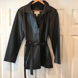 ♦️ Beautiful leather jacket ♦️